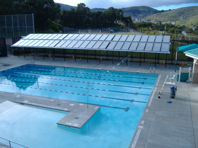 太阳能热水利用的图片