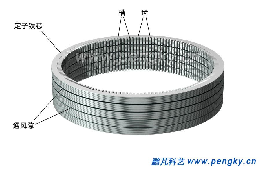 水轮发电机定子铁芯