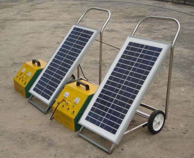 可移动式家用太阳能发电系统
