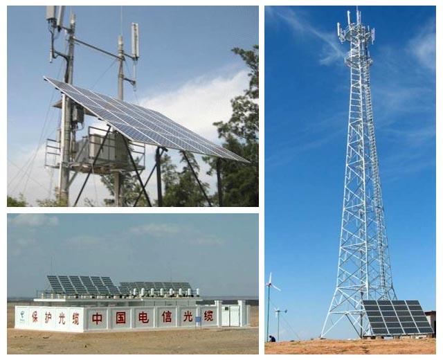 电信信号传输大量使用太阳能光伏供电