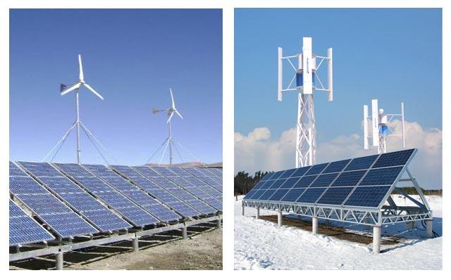 风光互补路灯系统电路结构简单,特别是现在采用低电压的led路灯,不